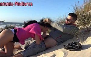 gruppensex am strand von mallorca